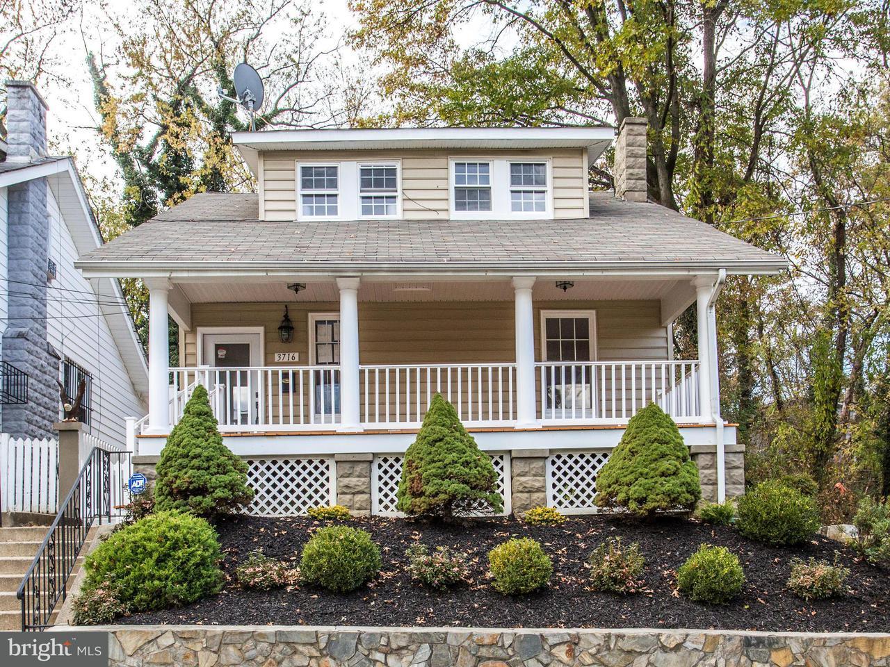獨棟家庭住宅 為 出售 在 3716 31st Pl Ne 3716 31st Pl Ne Washington, 哥倫比亞特區 20018 美國