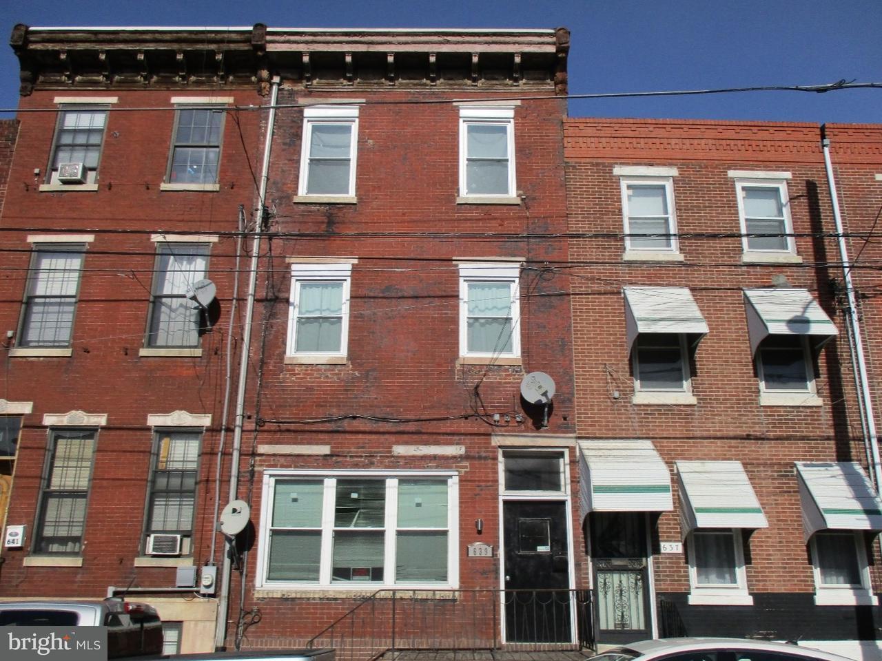 Triple por un Venta en 639 WASHINGTON Avenue Philadelphia, Pennsylvania 19147 Estados Unidos
