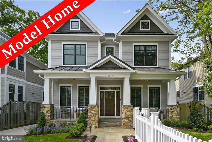 Single Family Home for Sale at 614 Vermont Street 614 Vermont Street Arlington, Virginia 22203 United States