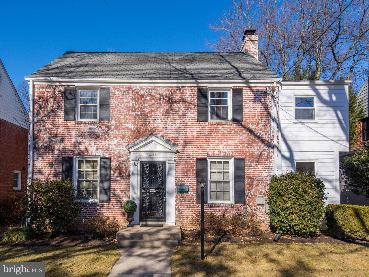 Single Family Home for Sale at 4435 Chesapeake St Nw 4435 Chesapeake St Nw Washington, District Of Columbia 20016 United States