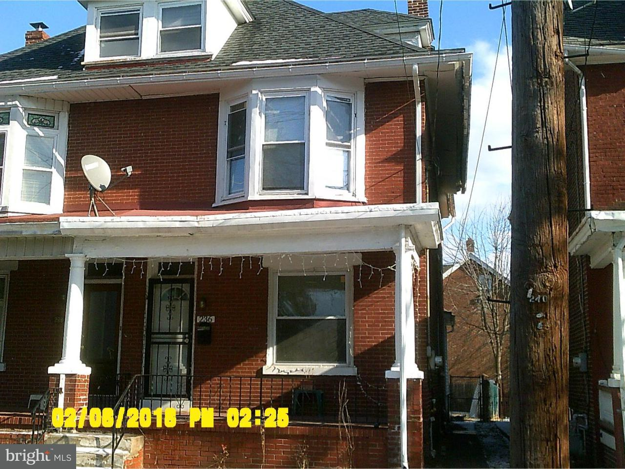 Townhouse for Rent at 236 N EVANS Street Pottstown, Pennsylvania 19464 United States