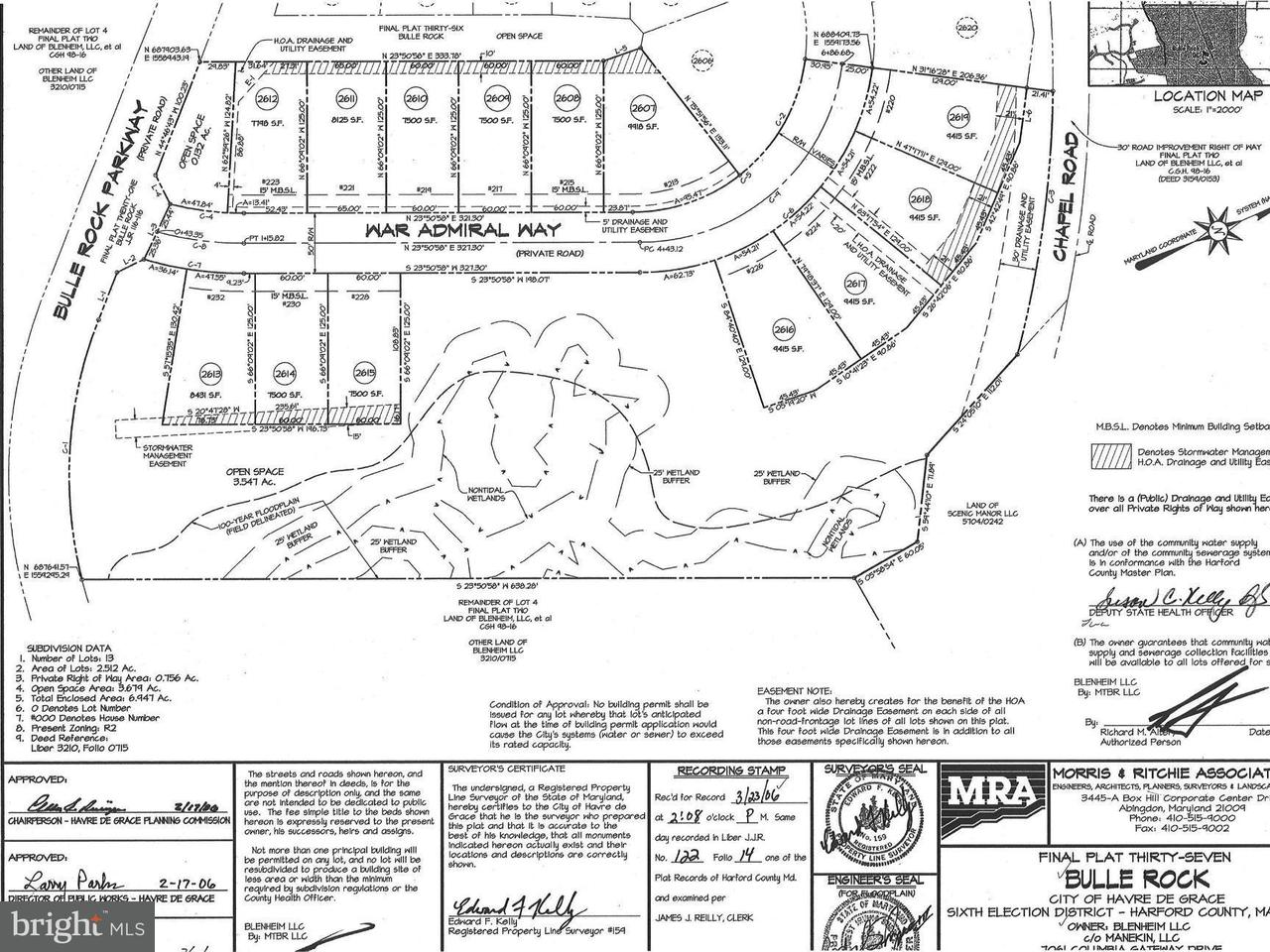 Land for Sale at 215 War Admiral Way Havre De Grace, Maryland 21078 United States