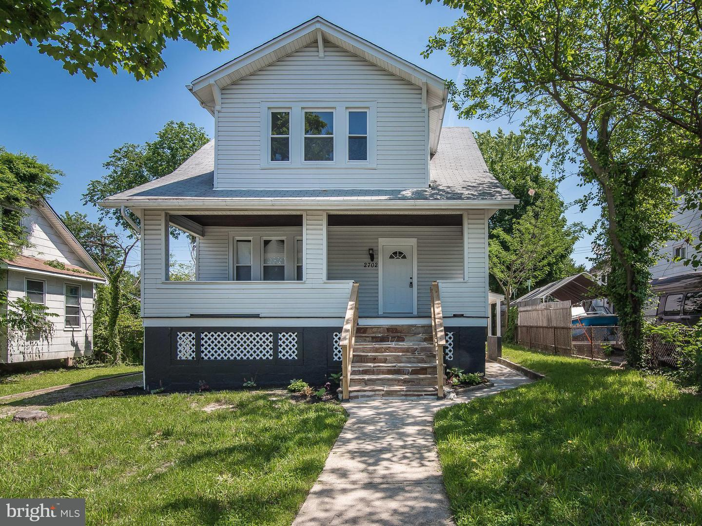 Single Family for Sale at 2702 Bayonne Ave Baltimore, Maryland 21214 United States