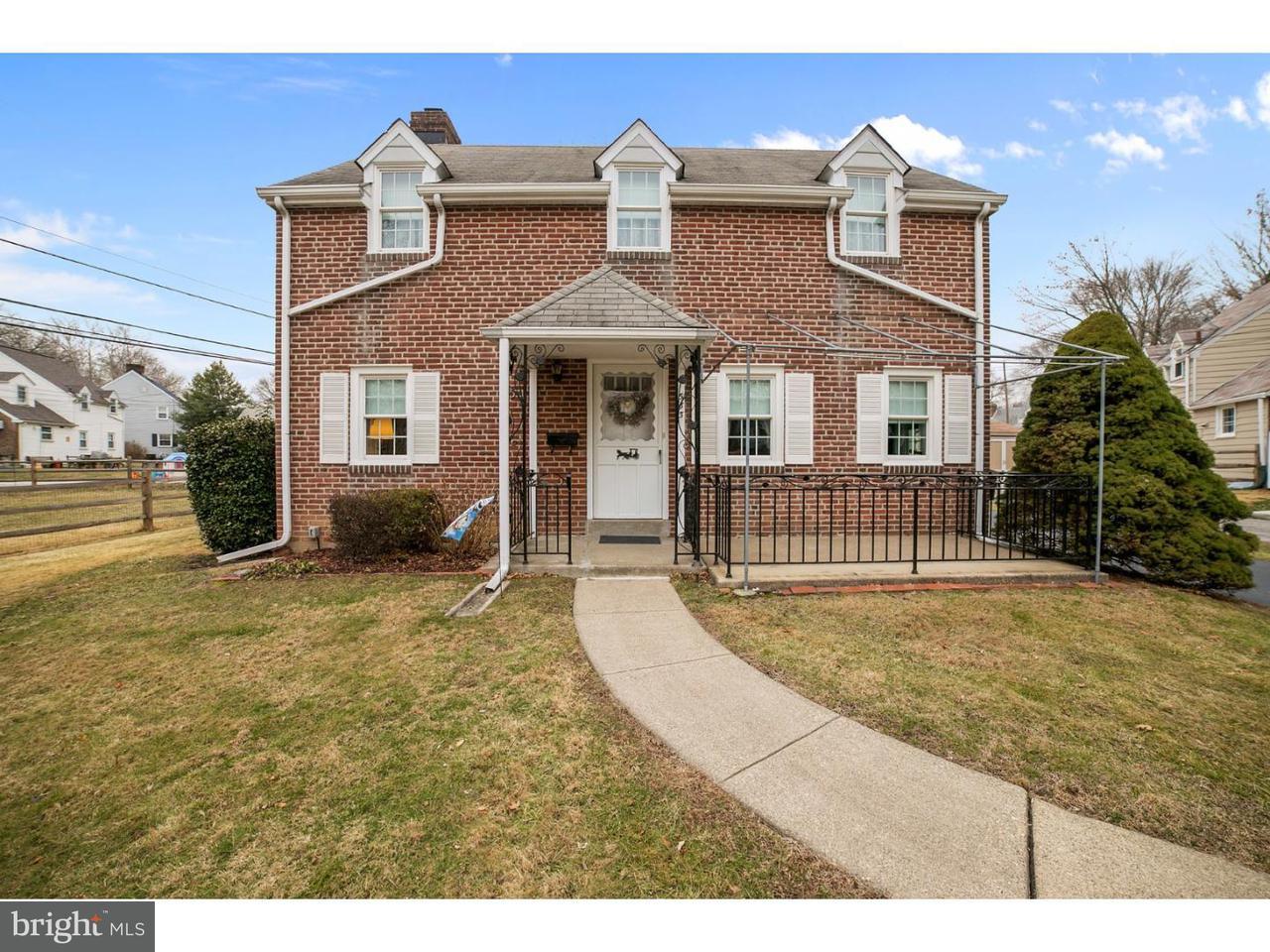 独户住宅 为 销售 在 533 ARLINGTON Avenue Folsom, 宾夕法尼亚州 19033 美国