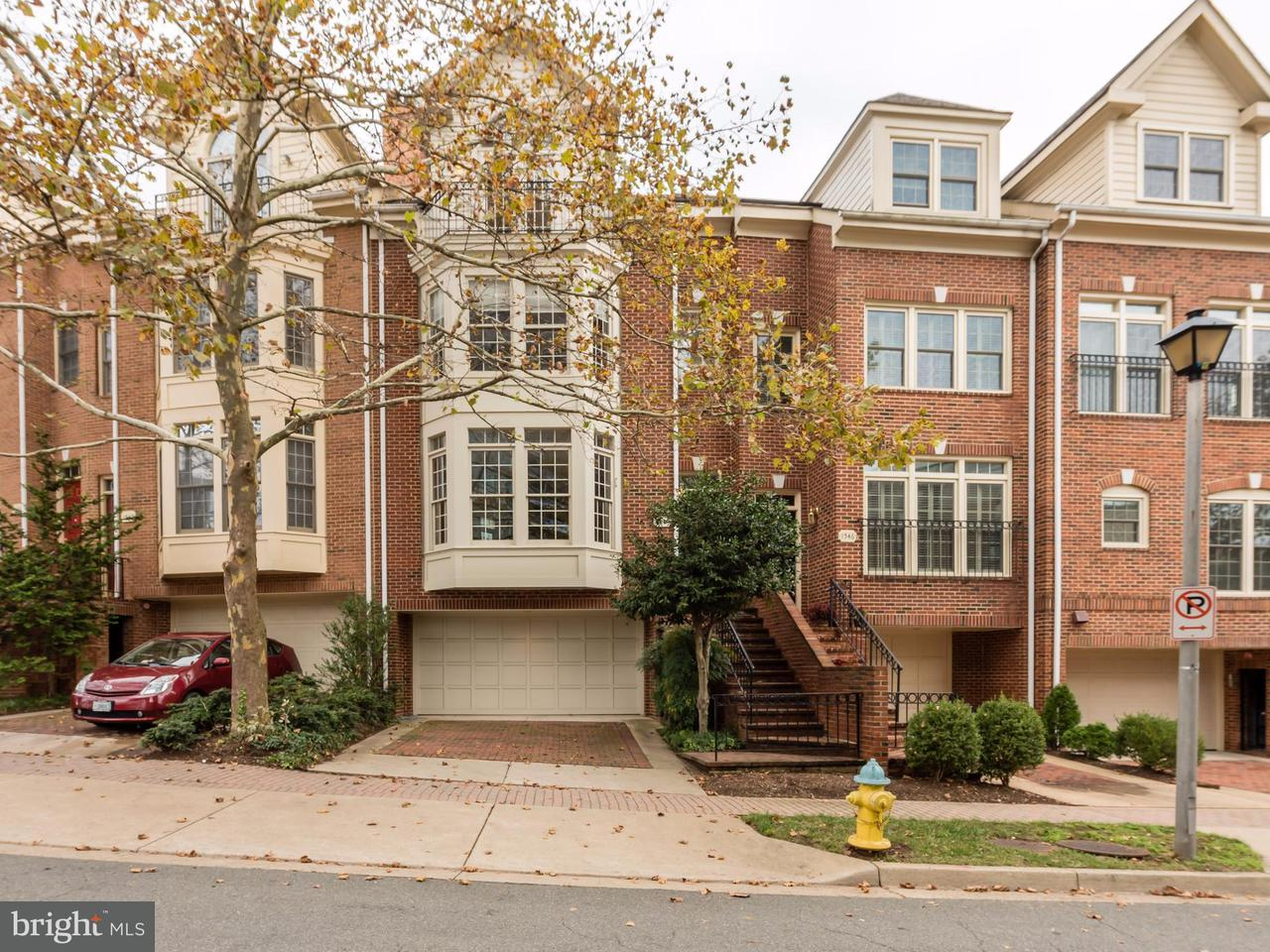 Townhouse for Sale at 1544 Colonial Ter 1544 Colonial Ter Arlington, Virginia 22209 United States