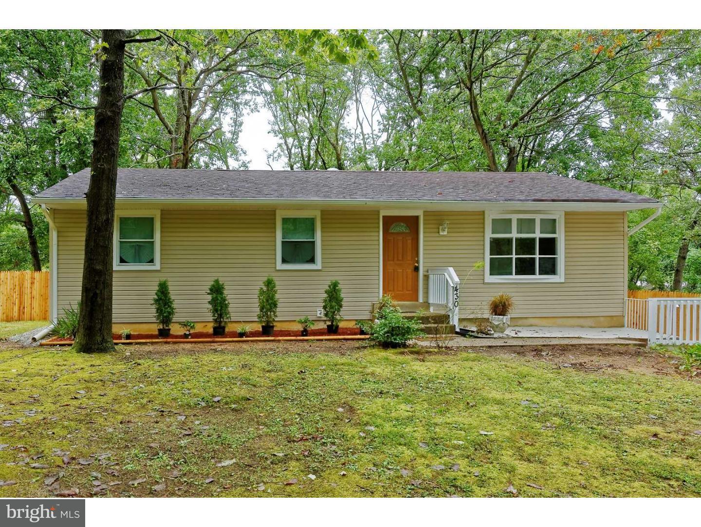Einfamilienhaus für Verkauf beim 430 SIEGFRIED Avenue Chesilhurst, New Jersey 08089 Vereinigte Staaten