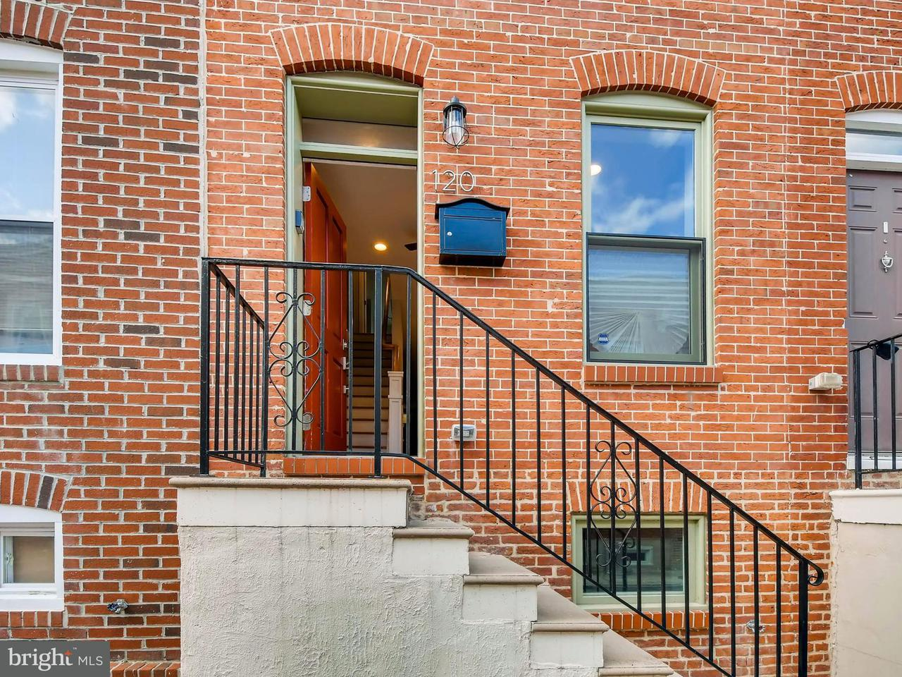 Single Family for Sale at 120 Bradford St N Baltimore, Maryland 21224 United States