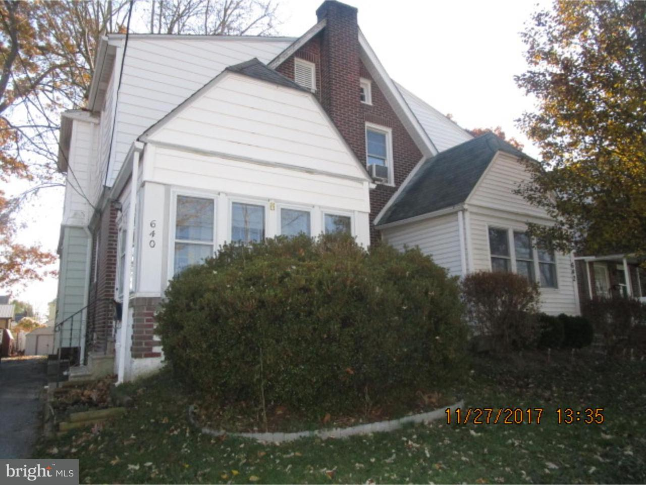 Townhouse for Sale at 640 15TH Avenue Prospect Park, Pennsylvania 19076 United States