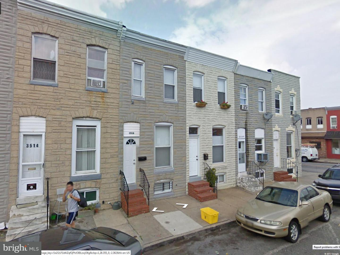 Single Family for Sale at 3516 Mount Pleasant Ave Baltimore, Maryland 21224 United States