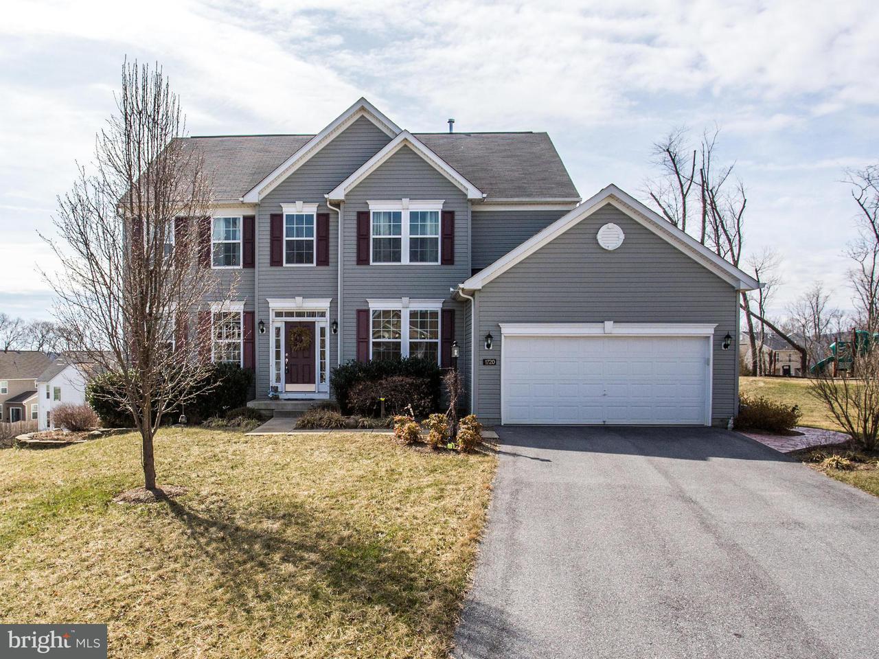 獨棟家庭住宅 為 出售 在 1720 Fletchers Drive 1720 Fletchers Drive Point Of Rocks, 馬里蘭州 21777 美國