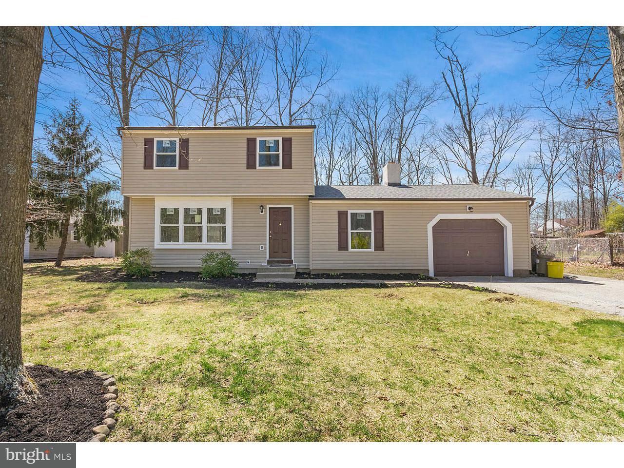 Частный односемейный дом для того Продажа на 22 ALBERTS Avenue Cedar Brook, Нью-Джерси 08081 Соединенные Штаты