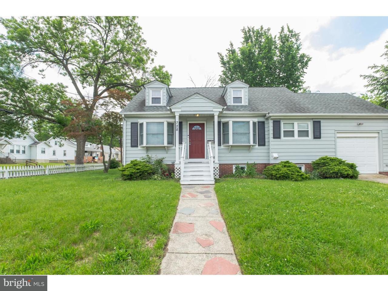 独户住宅 为 销售 在 728 TATUM Street Woodbury, 新泽西州 08096 美国