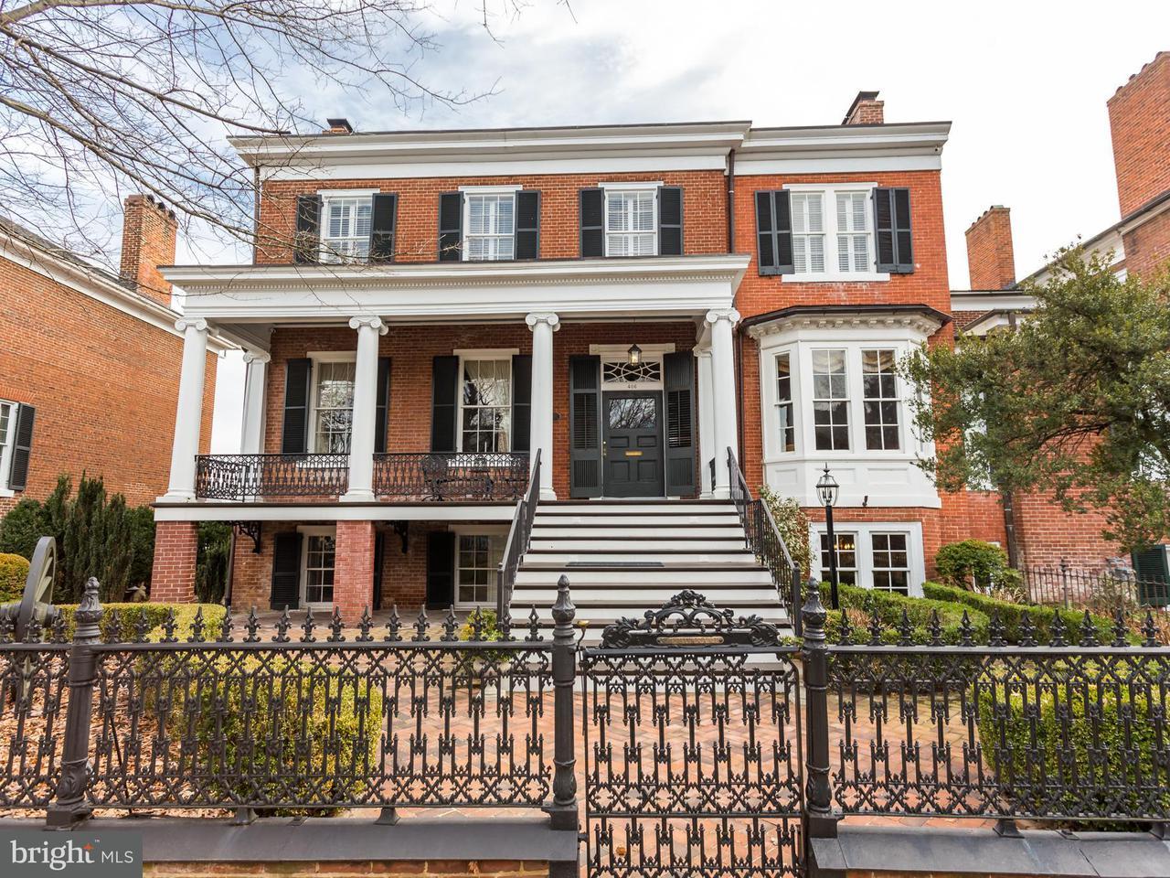 Single Family Home for Sale at 406 Hanover Street 406 Hanover Street Fredericksburg, Virginia 22401 United States
