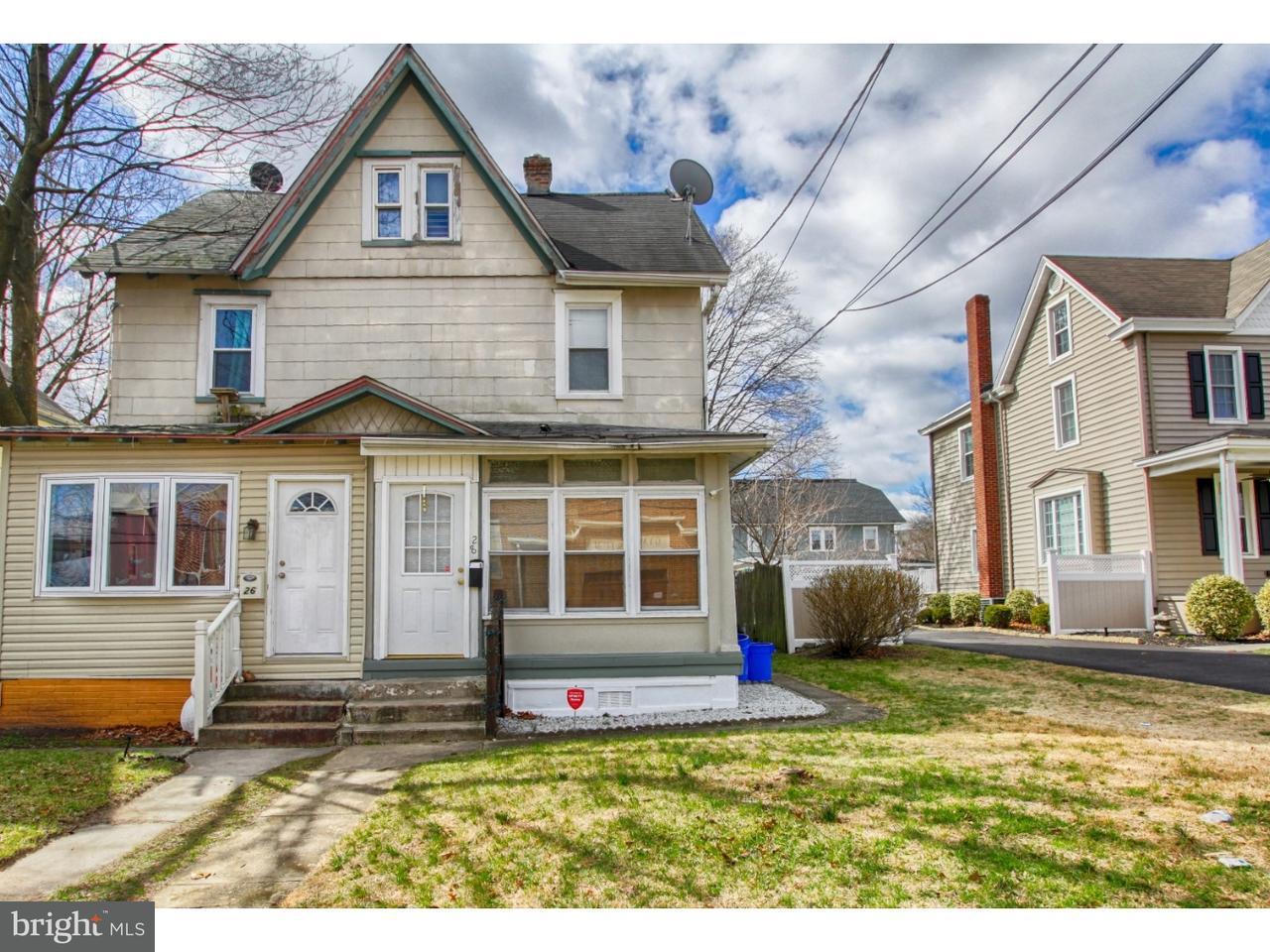 联栋屋 为 出租 在 28 CHAPEL Avenue Merchantville, 新泽西州 08109 美国