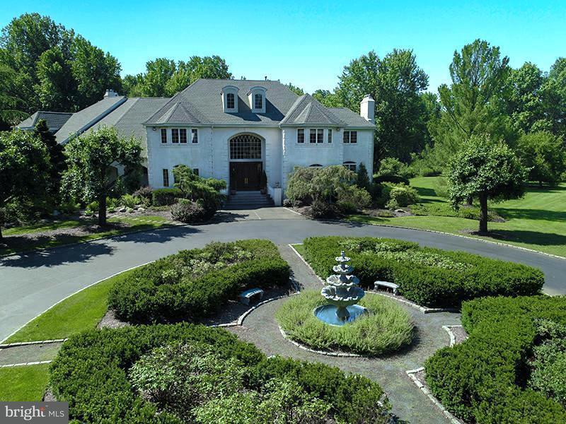 Enfamiljshus för Försäljning vid 750 A COX Road Moorestown, New Jersey 08057 Usa