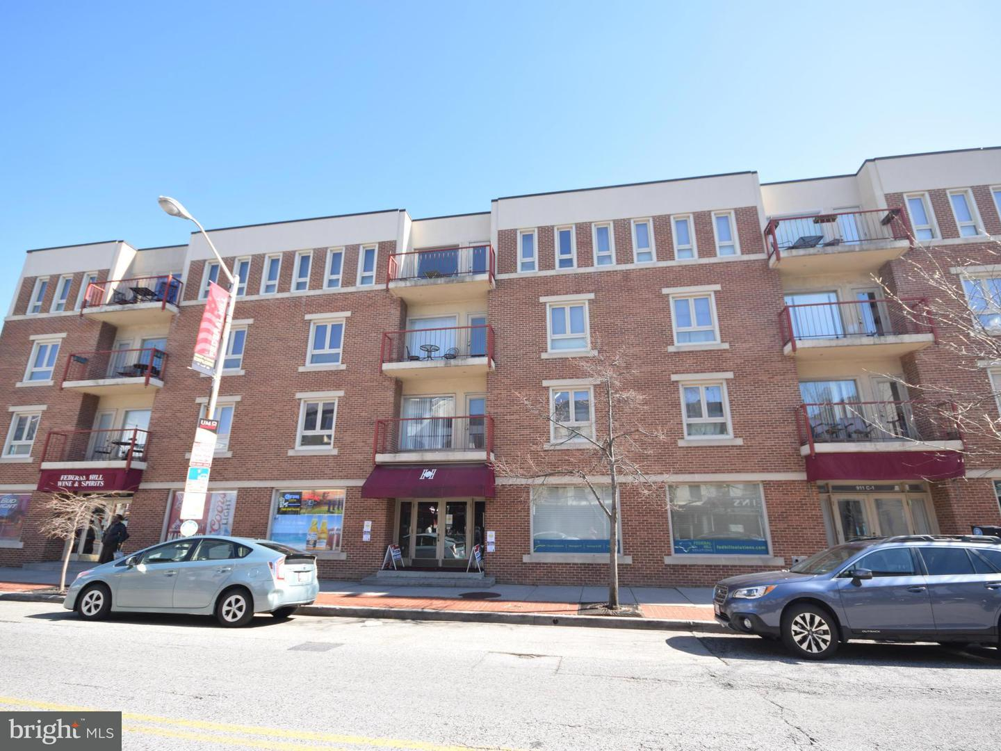 Single Family for Sale at 911 Charles St S #208 Baltimore, Maryland 21230 United States