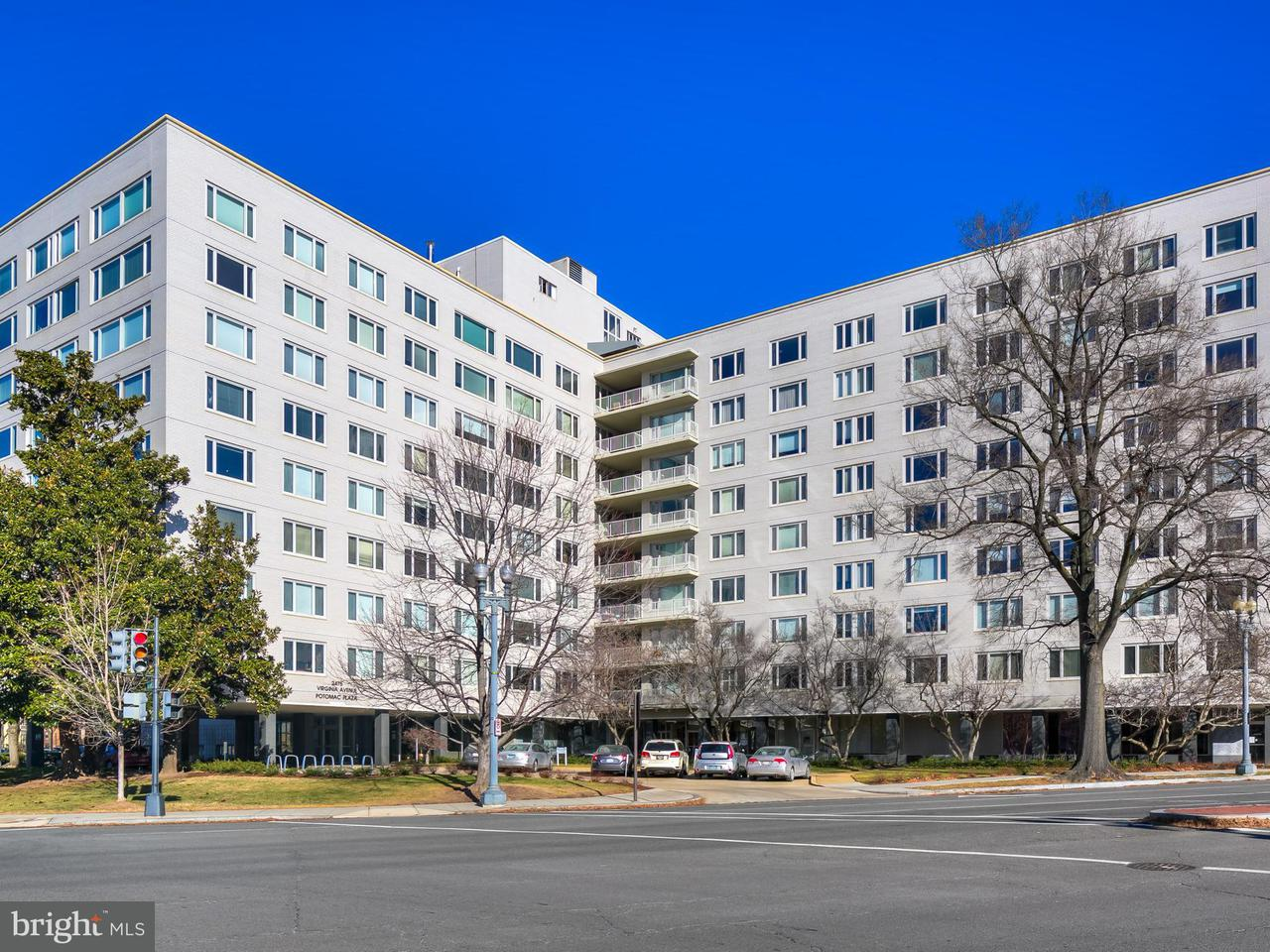 Condominium for Sale at 2475 Virginia Ave NW #715 Washington, District Of Columbia 20037 United States