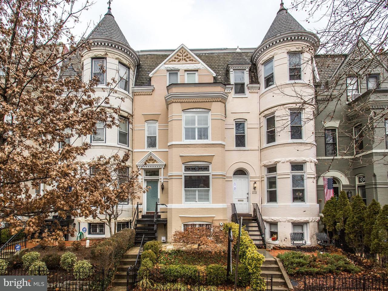 Single Family for Sale at 2715 P St NW Washington, District Of Columbia 20007 United States