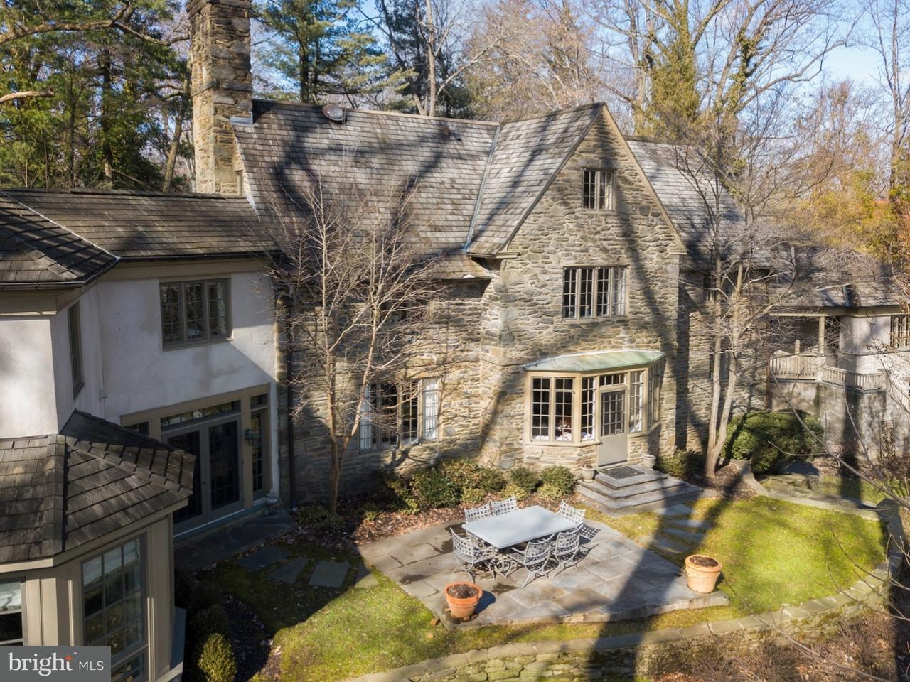 Частный односемейный дом для того Продажа на 32 EVANS Lane Haverford, Пенсильвания 19041 Соединенные Штаты