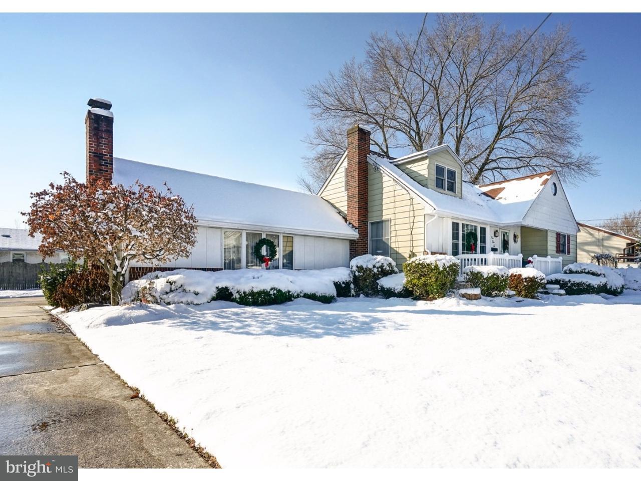 Maison unifamiliale pour l Vente à 456 5TH Avenue Lindenwold, New Jersey 08021 États-Unis