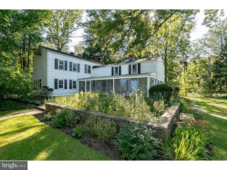 Maison unifamiliale pour l Vente à 84 CARSON Road Princeton, New Jersey 08540 États-UnisDans/Autour: Lawrence Township