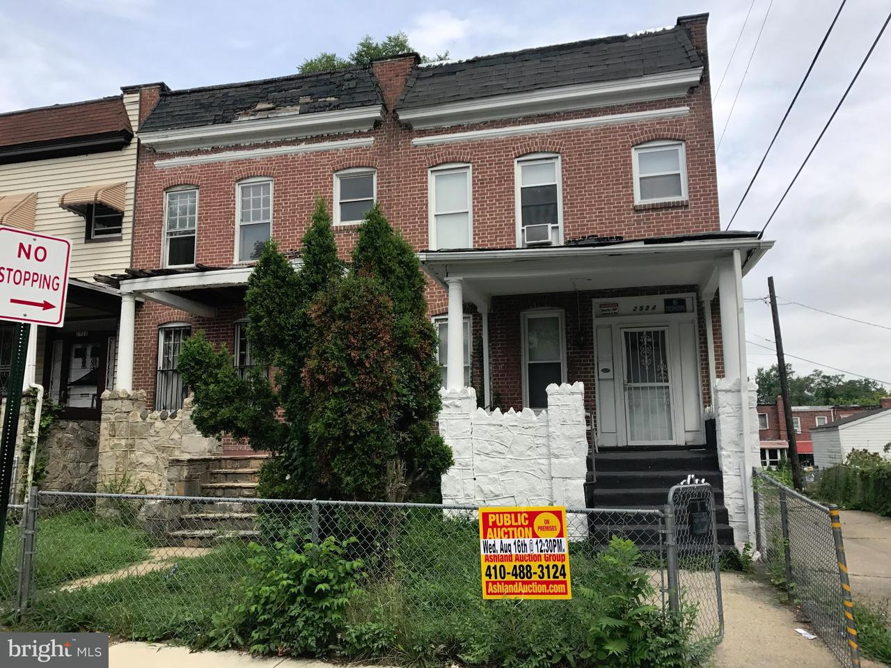 Single Family for Sale at 2524 Boarman Ave Baltimore, Maryland 21215 United States