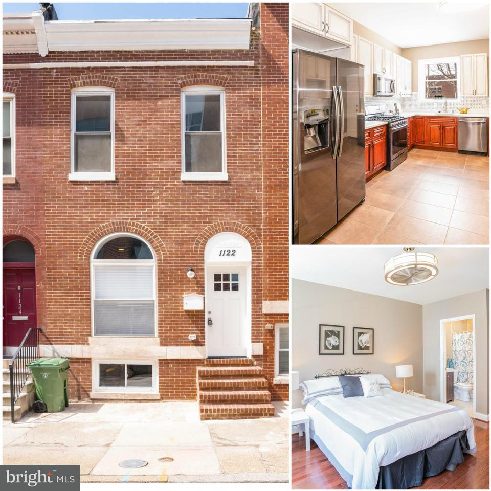 Single Family for Sale at 1122 Leadenhall St Baltimore, Maryland 21230 United States