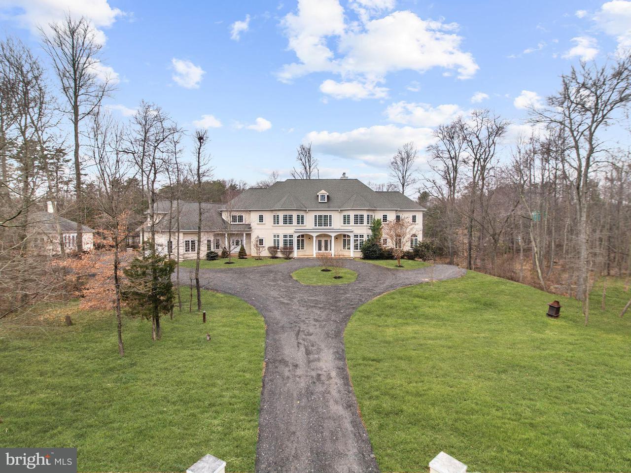 Maison unifamiliale pour l Vente à 6300 Little Ox Road 6300 Little Ox Road Fairfax Station, Virginia 22039 États-Unis
