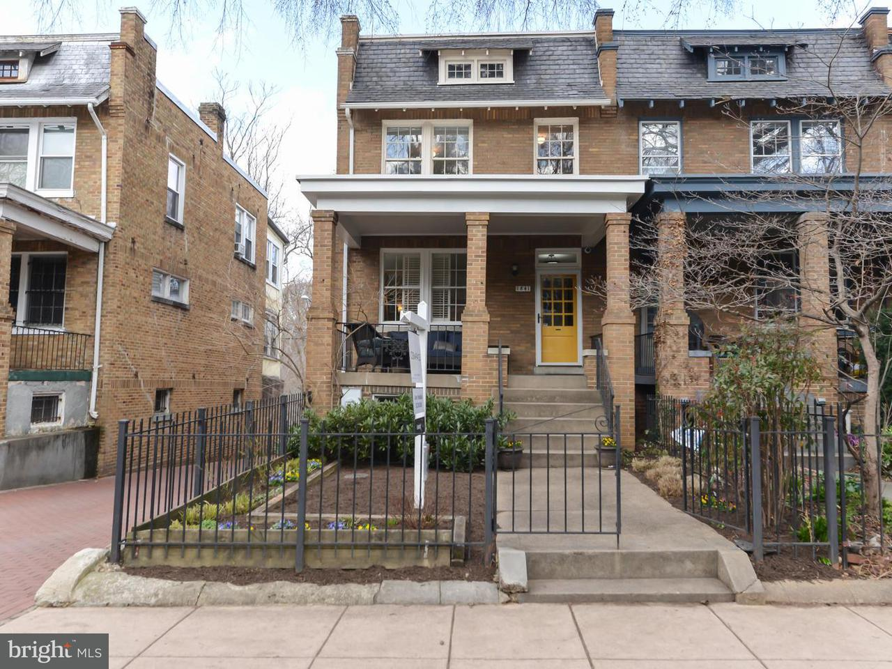 Townhouse for Sale at 1841 Ingleside Ter Nw 1841 Ingleside Ter Nw Washington, District Of Columbia 20010 United States