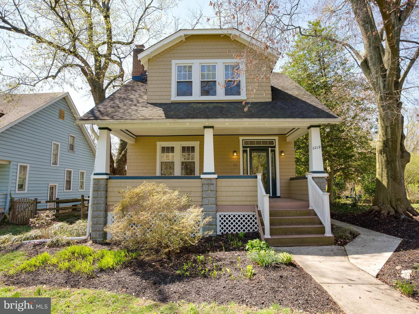 Single Family for Sale at 2219 Crest Rd Baltimore, Maryland 21209 United States