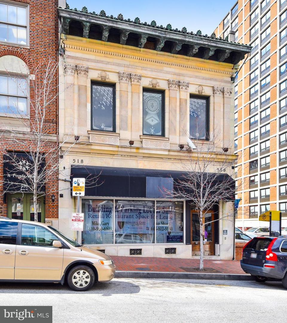 Commercial for Sale at 518 Charles St Baltimore, Maryland 21201 United States