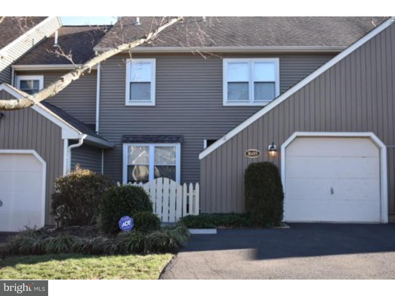 Duplex pour l à louer à 1605 LAKEVIEW Circle Yardley, Pennsylvanie 19067 États-Unis