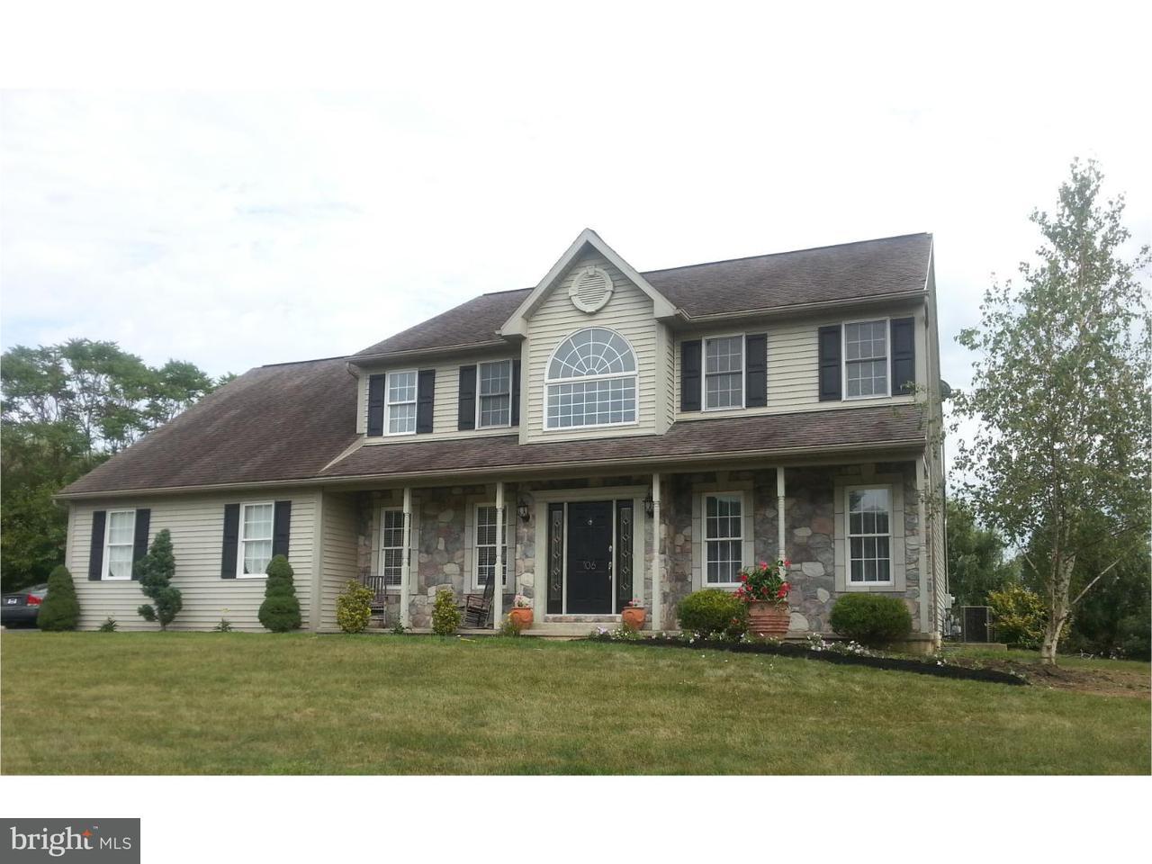 Maison unifamiliale pour l à louer à 106 HIGHLAND Court Douglassville, Pennsylvanie 19518 États-Unis