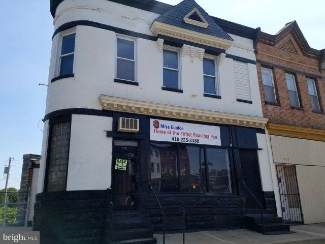 Commercial for Sale at 1341 North Ave Baltimore, Maryland 21217 United States
