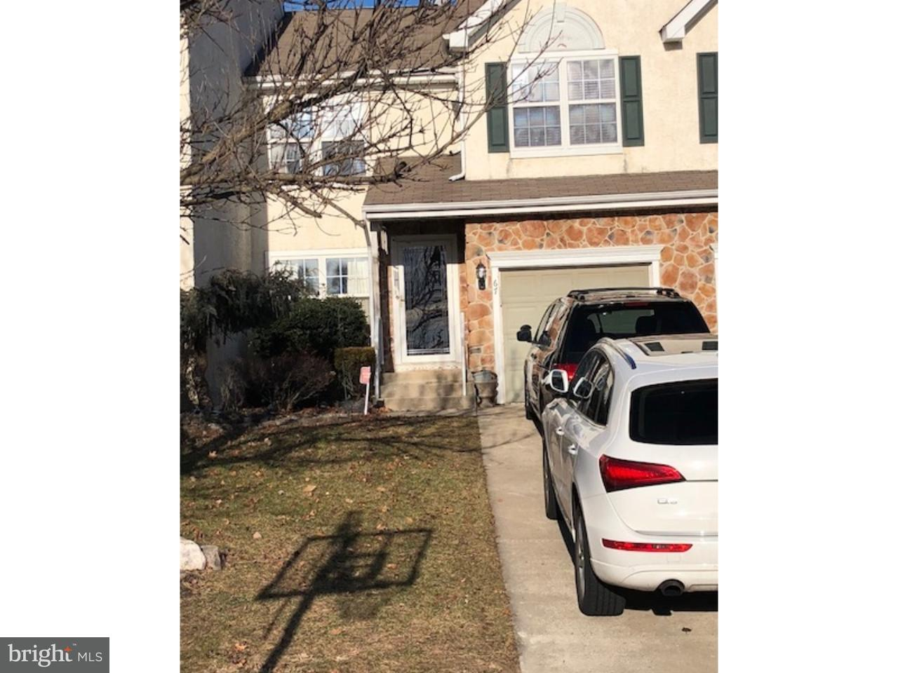 Townhouse for Rent at 67 HEARTHSTONE Lane Marlton, New Jersey 08053 United States