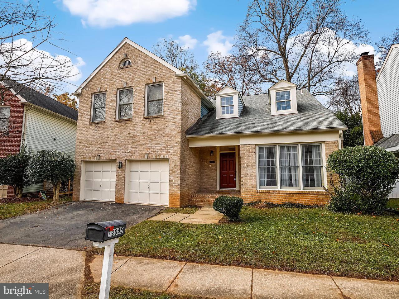Maison unifamiliale pour l Vente à 12045 Montrose Village Ter 12045 Montrose Village Ter Rockville, Maryland 20852 États-Unis