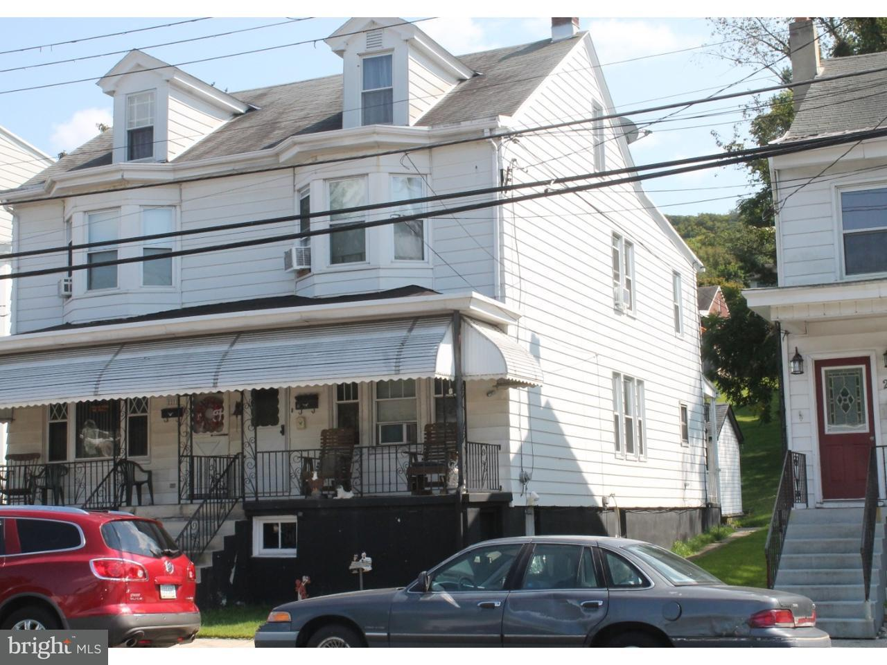 Townhouse for Sale at 2273 W MARKET Street Pottsville, Pennsylvania 17901 United States