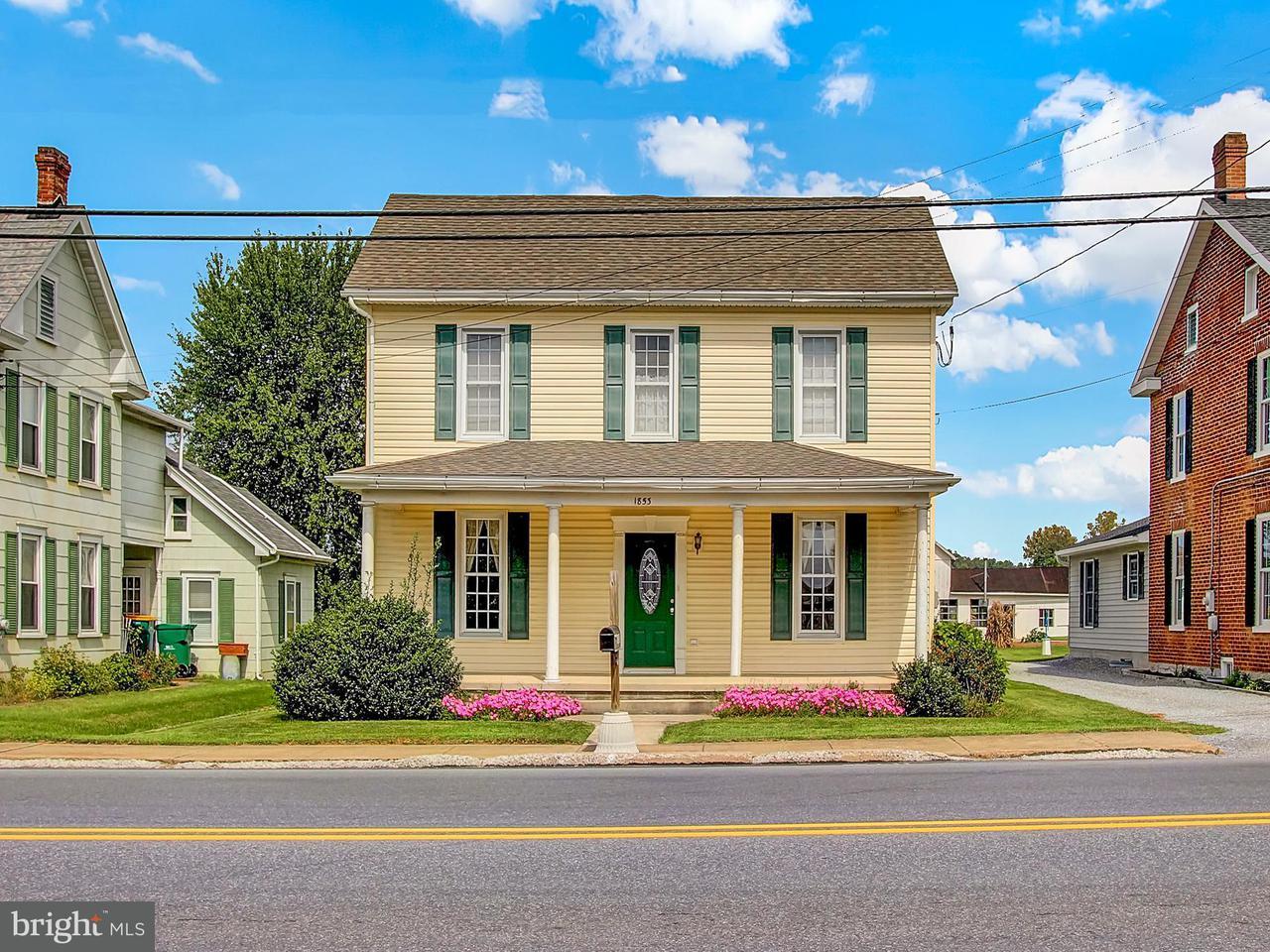 Single Family for Sale at 1853 Buchanan Trl E Greencastle, Pennsylvania 17225 United States