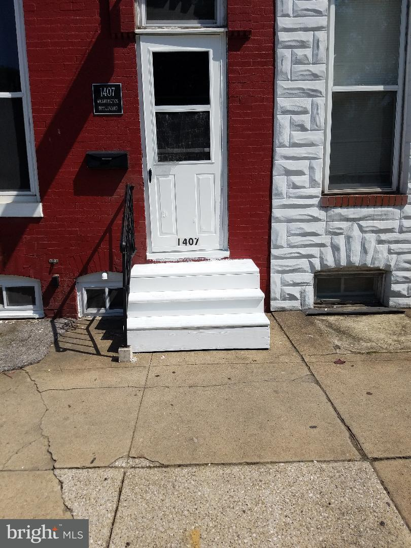 Single Family for Sale at 1407 Washington Blvd Baltimore, Maryland 21230 United States