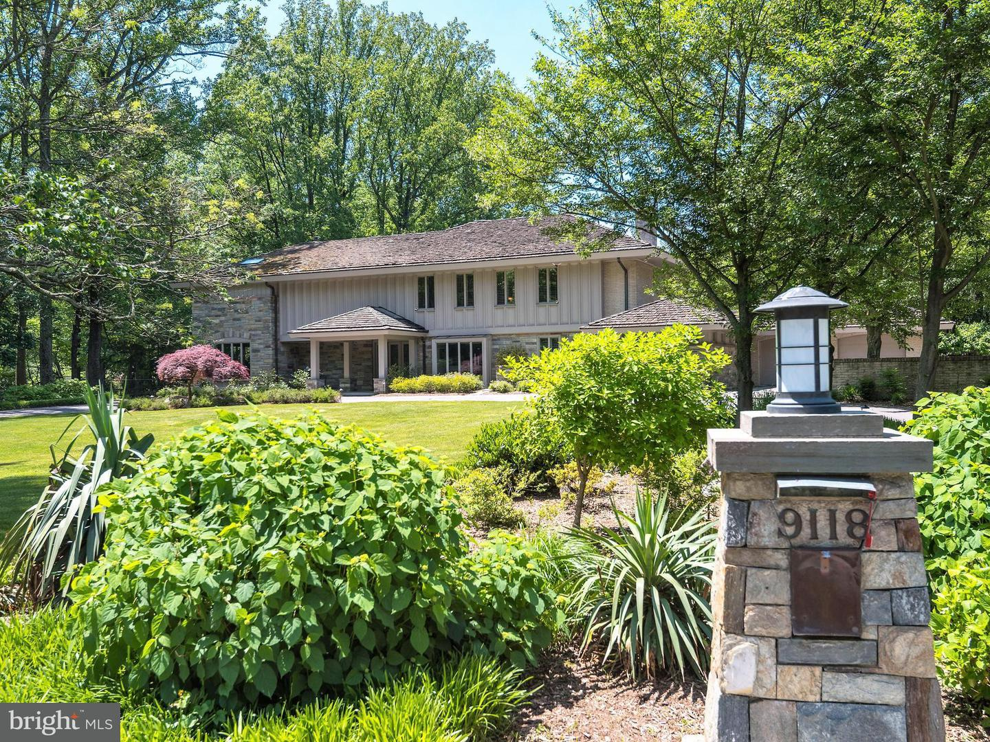 Photo of home for sale at 9118 Redwood Avenue, Bethesda MD
