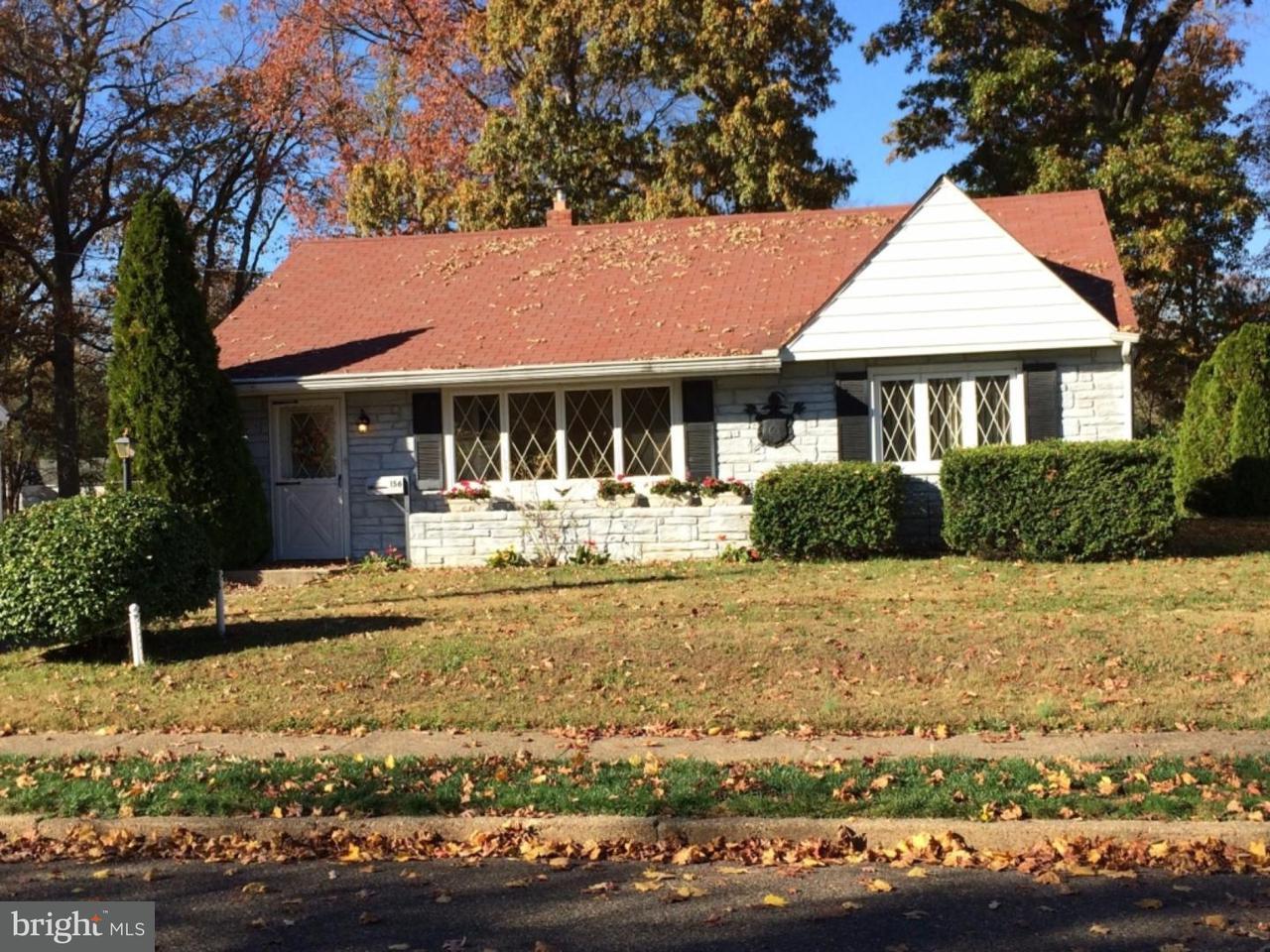 Maison unifamiliale pour l à louer à 156 BROOKFIELD Avenue Pitman, New Jersey 08071 États-Unis