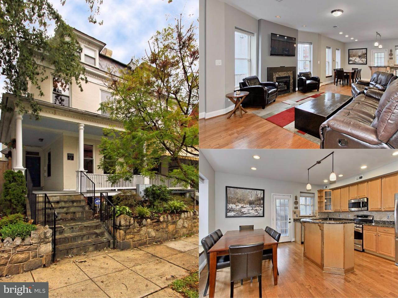 Single Family for Sale at 3518 10th St NW #a Washington, District Of Columbia 20010 United States