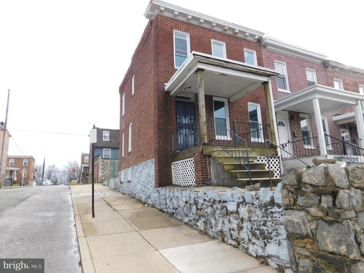 Single Family for Sale at 3239 Elmora Ave Baltimore, Maryland 21213 United States