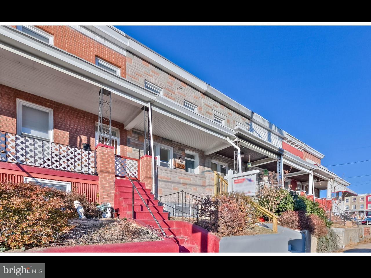 Single Family for Sale at 3342 Keswick Rd Baltimore, Maryland 21211 United States