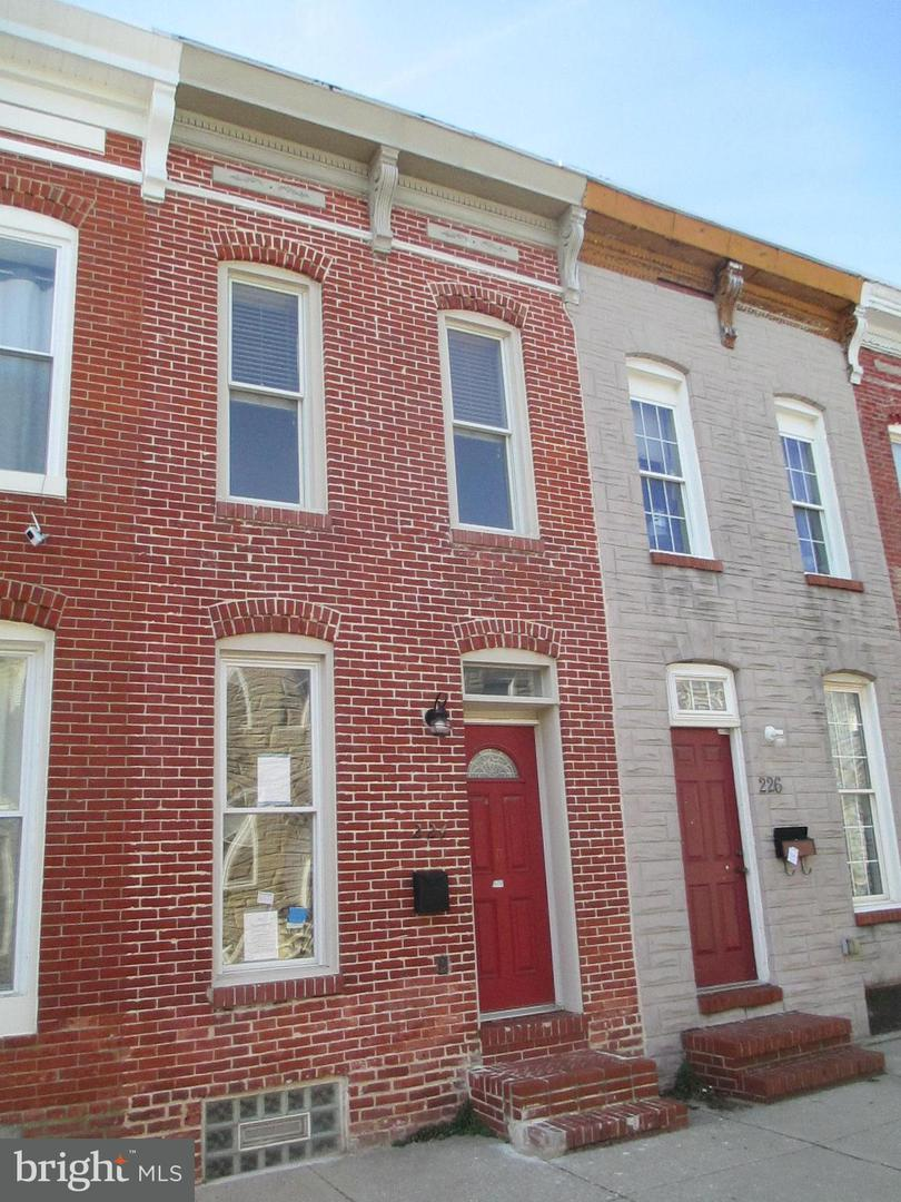 Single Family for Sale at 224 Port St Baltimore, Maryland 21224 United States