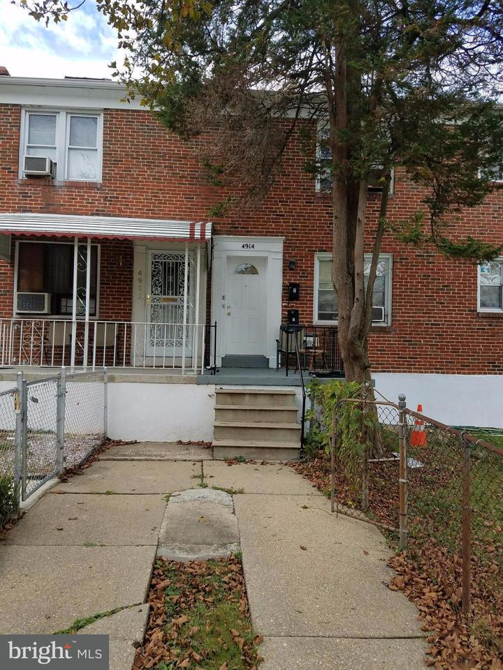 Single Family for Sale at 4914 Poe Ave Baltimore, Maryland 21215 United States