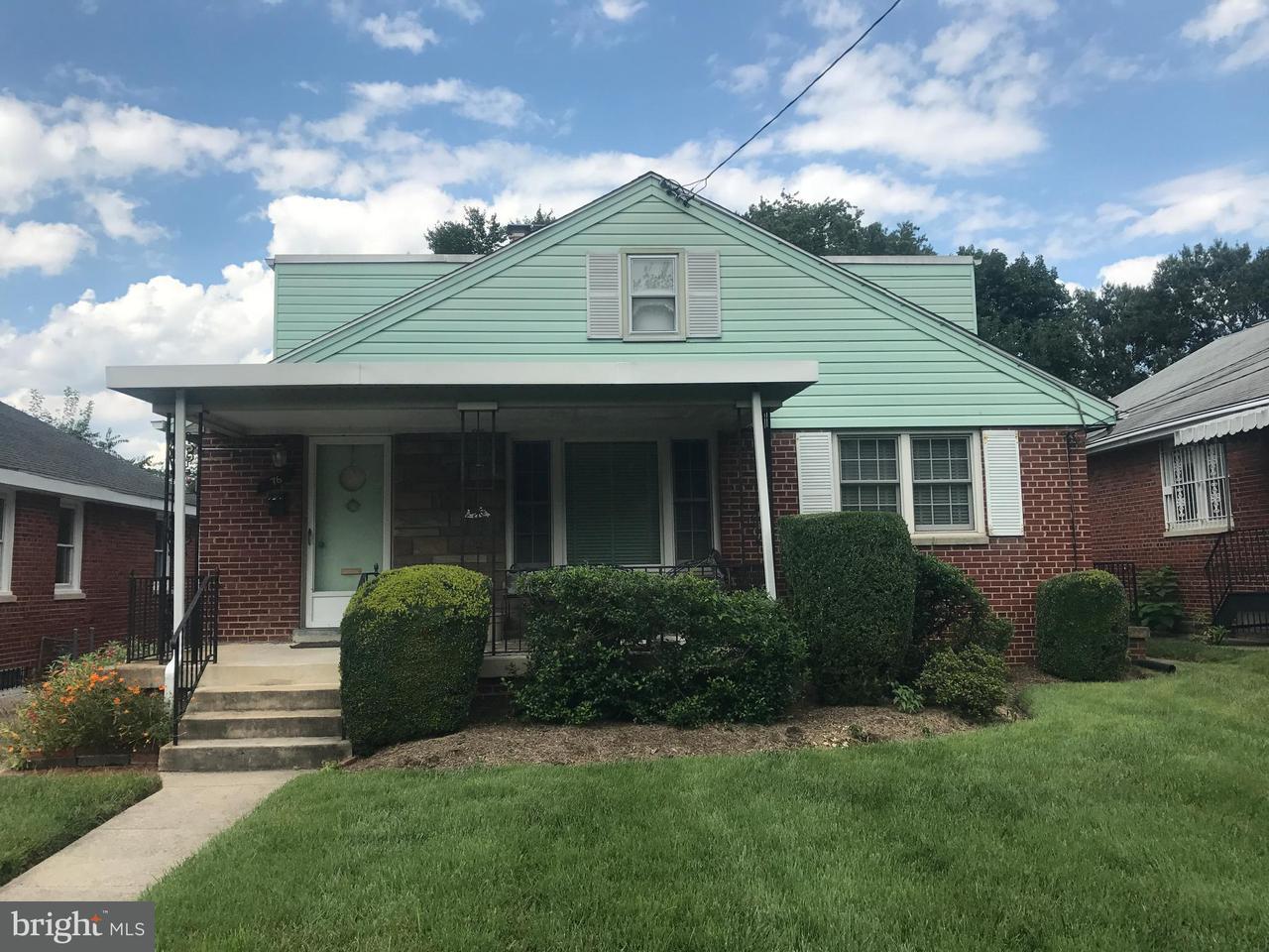 Single Family for Sale at 76 Sheridan St NE Washington, District Of Columbia 20011 United States