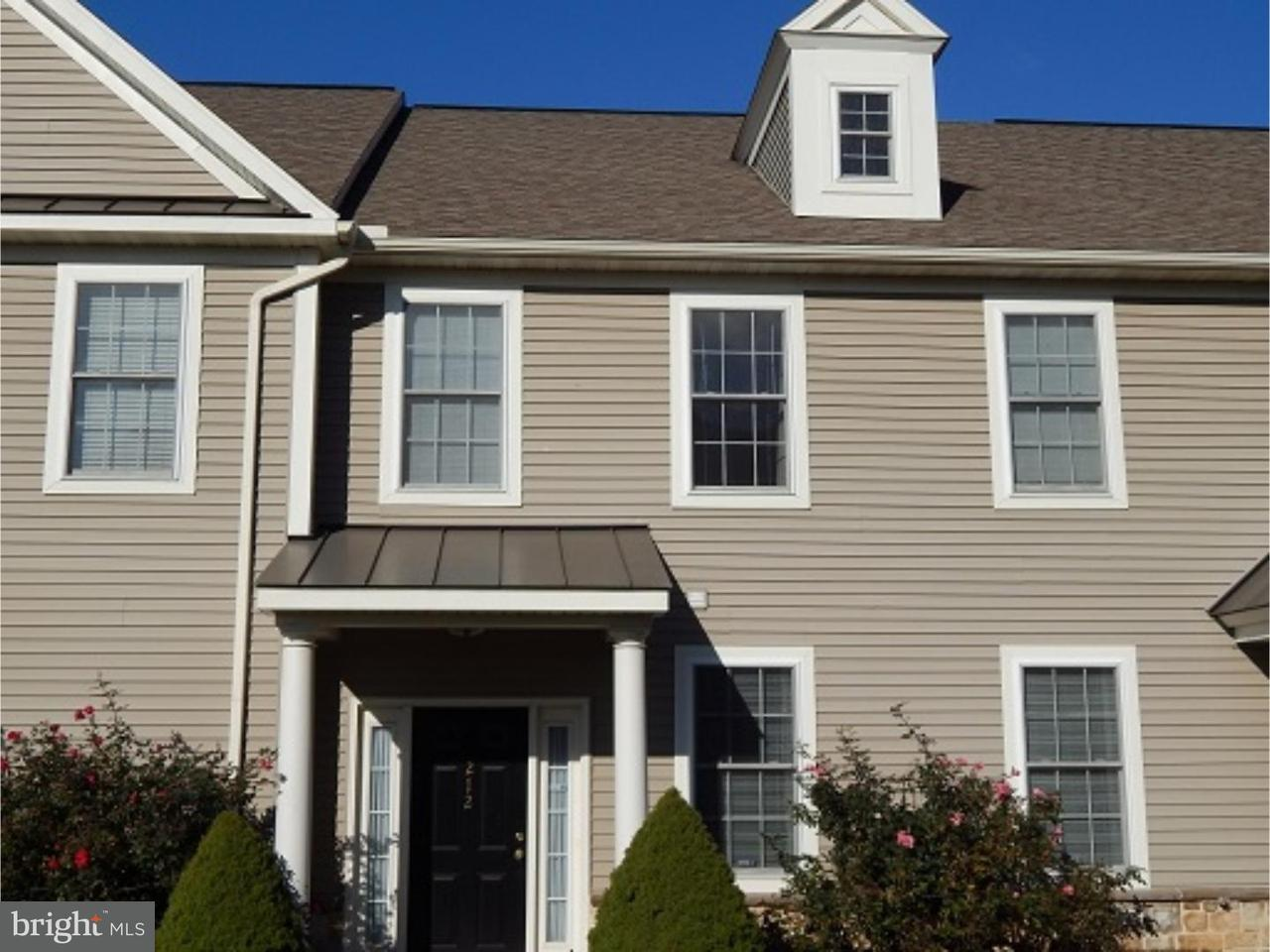 Maison accolée pour l à louer à 212 SPRINGMONT Drive Wyomissing, Pennsylvanie 19610 États-Unis