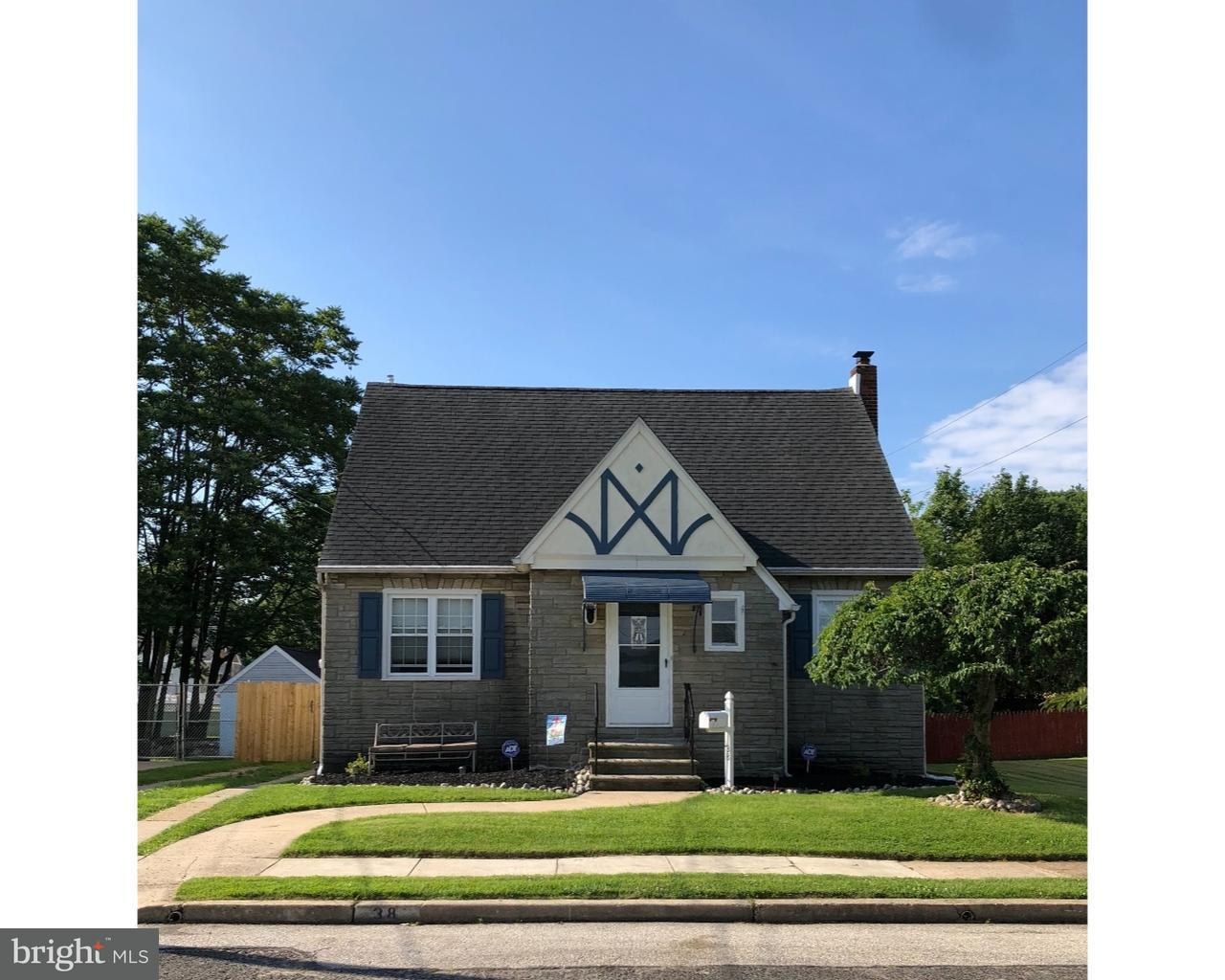 Single Family Home for Sale at 38 GLOVER Avenue Mount Ephraim, New Jersey 08059 United States