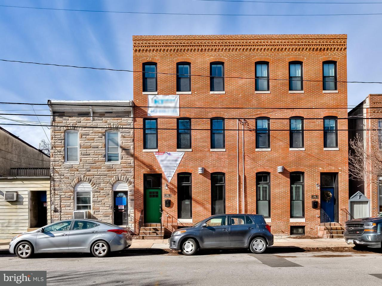 Single Family for Sale at 1424 Hull St Baltimore, Maryland 21230 United States